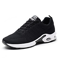 Men's Athletic Shoes Running Comfort Knit Fall Winter Athletic Casual Outdoor Flat Heel Blue Gray Black Flat