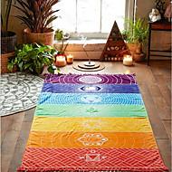 Frisk stil Strandhåndkle,Trykt mønster Overlegen kvalitet 100% Polyester Håndkle