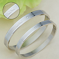 Titanium Bracelet Stainless Steel Bracelet lovers love classic creative Korea fashion accessories