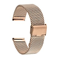 billiga Smart klocka Tillbehör-Klockarmband för Huawei Watch 2 Huawei Modernt spänne Rostfritt stål Handledsrem
