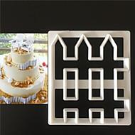 billige Bakeredskap-Bakeware verktøy Plastikker Dagligdags Brug Cake Moulds 1pc