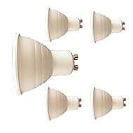 7W Lâmpadas de Foco de LED 6 SMD 3030 580 lm Branco Quente Branco V 5 pçs GU10