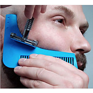 The beard shaper Beard Styling and Shaping Template Comb Tool Ramdon Color