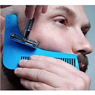 voordelige -de baard shaper baard styling en vormgeven template kam tool ramdon color