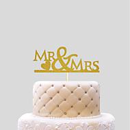 อุปกรณ์แต่งหน้าเค้ก การแต่งงาน หัวใจ กระดาษ งานแต่งงาน กับ 1 PVC Bag