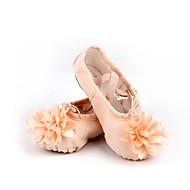 billige Ballettsko-Barn Ballett Bomull Lerret Splitt såle Innendørs Rosa Kan spesialtilpasses