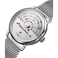 billige Quartz-Dame Quartz Armbåndsur / Militærur Japansk Kalender / Kronograf / Vandafvisende / Kreativ / Stor urskive / Punk / Sej Rustfrit stål Bånd