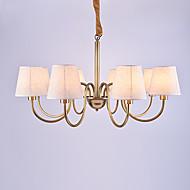 europa åtte hodene amercian klassisk stil kobber lysekrone lampe til stue / soverom / kantine rom / foajé enkel luksus lysarmatur