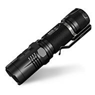 baratos Luzes & Lanternas de Acampamento-Nitecore Lanternas LED LED 460lm Manual Modo Iluminação Estilo Mini / Prova-de-Água / Ajustável Uso Diário / Caça