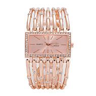 Dámské Luxusní hodinky Náramkové hodinky zlaté hodinky Křemenný Stříbro / Zlatá / Růžové zlato Hodinky na běžné nošení Cool Analogové dámy Luxus Na běžné nošení Módní Elegantní - Zlatá Stříbrn