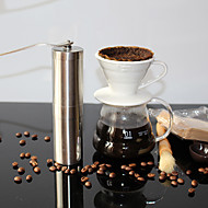 cheap Coffee and Tea-1pc Stainless Steel Coffee Grinder Manual ,  18.8*4.9*4.9