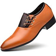 baratos Sapatos Masculinos-Homens Sapatos formais Couro Ecológico Outono / Inverno Sapatos formais Oxfords Preto / Amarelo / Marron / Festas & Noite / Sapatos de vestir