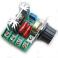 regulátor regulace otáček motoru pwm ac 2000w nastavitelný regulátor napětí