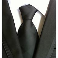 ieftine -Bărbați Solid Toate Sezoanele Grid Solid Cravată