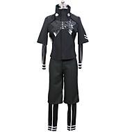 abordables Cosplay de Animes-Inspirado por Tokyo Ghoul Ken Kaneki Animé Disfraces de cosplay Trajes Cosplay Color sólido Chaqueta Leotardo/Pijama Mono Pantalones Para