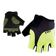 スポーツグローブ サイクルグローブ 高通気性 横滑り防止 ウィッキング フィンガーレス メッシュ サイクリング / バイク 男女兼用