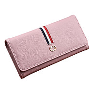 Women Bags PU Coin Purse Sashes/ Ribbons for Shopping Casual All Seasons Blue Black Blushing Pink Gray