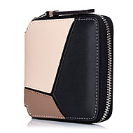 Women Bags Cowhide Coin Purse Zipper for Wedding Event/Party All Seasons Blue Black Blushing Pink