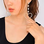 Dame dingle øreringe Imiteret Perle Rhinsten Hængende Imiteret Perle Mode Yndig Personaliseret Euro-Amerikansk Imiteret Perle Rhinsten