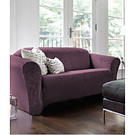 loveseat slipcover damask