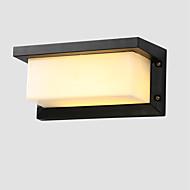 5 Integrert LED Rustikk/ Hytte LED Vintage Retro Rød Trekk for LED Mini Stil Pære inkludert,Atmosfærelys Vegglampe