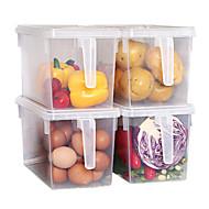 preiswerte Konservieren & Einmachen-1pc Essenslager Plastik Leichte Bedienung Küchenorganisation