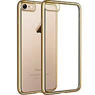 halpa -Käyttötarkoitus iPhone 8 iPhone 8 Plus kotelot kuoret Pinnoitus Läpinäkyvä Takakuori Etui Läpinäkyvä Pehmeä TPU varten Apple iPhone 8