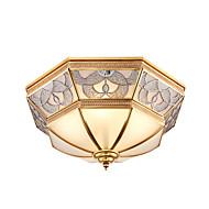 retro lyspære - romlampe - amerikansk retro soveromlampe - europeisk kobberlampe med europeisk kobberlampe