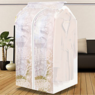 Tekstil Plast Oval Anti-Støv Hjem Organisation, 1pc Garderobeorganiser Opbevaringsenheder