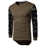 Rund hals Tynd Herre - camouflage Aktiv Sport Weekend T-shirt