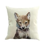 1 pcs bonitinho loiro animal impressão tampa de travesseiro 45 * 45cm novidade animais padrão almofada caso