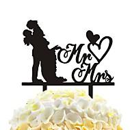 ieftine Tăiatoare de Prăjituri-tort acrilic inserturi îmbrățișare fericit tort decorare bucătărie bakewares& mese
