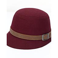Damer Hat Bøllehat,Uldent stof Alle årstider Patchwork Kontor / Bedrift