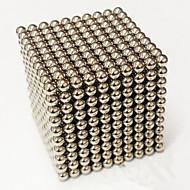 Χαμηλού Κόστους -Παιχνίδια μαγνήτες Μαγικοί κύβοι Μαγνήτης νεοδυμίου Μαγνητικές μπάλες Σούπερ δυνατοί μαγνήτες σπάνιας γαίας Κατά του στρες 1000pcs 3mm