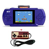 přenosné přehrávače ručních her rs-2a 3.2 konzola pro videohry pro děti 300 klasická podpora hry av port zdarma kazeta 2. řadič pro
