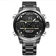 Pánské Děti Sportovní hodinky Vojenské hodinky Digitální hodinky japonština Křemenný LED Kalendář Chronograf Voděodolné poplach Svítící