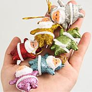 karácsonyfa díszek karácsonyfa medál karácsony kis idősek medál vegyes 6-színű