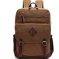 Men Bags Canvas Laptop Bag Zipper for Casual Outdoor All Seasons Blue Black Coffee Red Khaki