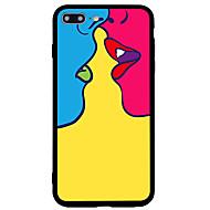 billiga Mobil cases & Skärmskydd-fodral Till Apple iPhone 7 Plus iPhone 7 Frostat Mönster Skal Sexig kvinna Hårt Akrylfiber för iPhone 7 Plus iPhone 7 iPhone 6s Plus
