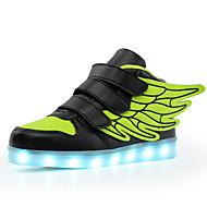 Jongens Schoenen Tricot Pailletten EVA Kunstleer Winter Herfst Oplichtende schoenen Comfortabel Lichtzolen Sneakers Pailletten Magic tape