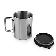 cheap Camp Kitchen-Cup Coffee and Tea Stainless Steel for Camping / Hiking Picnic
