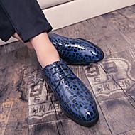 お買い得  大きいサイズ/小さいサイズ 靴-男性用 靴 ナパ革 春 / 秋 コンフォートシューズ / フォーマルシューズ オックスフォードシューズ ブラック / ブルー / パーティー / ドレスシューズ