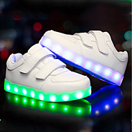 cheap Boys' Shoes-Boys' Shoes PU Fall Winter Light Up Shoes Sneakers LED for Casual Outdoor White Black