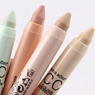 Χαμηλού Κόστους MISS ROSE-4 χρωματιστά Βάση / Κονσίλερ / Contour / Πούδρα Ξηρό / Ματ / Mineral Balm Κονσίλερ Γυναικείο / Πρόσωπο Χωρίς Οινόπνευμα