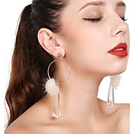 Women's Drop Earrings Hoop Earrings Earrings Ladies Tassel Jewelry Gold For Party Daily