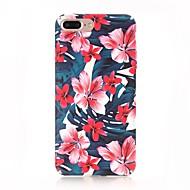 Carcasă Pro Apple iPhone X iPhone 8 Matné Vzor Zadní kryt Květiny Pevné PC pro iPhone X iPhone 8 Plus iPhone 8 iPhone 7 Plus iPhone 7