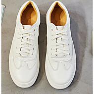 Dames Schoenen PU Lente Herfst Comfortabel Sneakers Voor Causaal Wit Roze