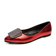 baratos Sapatilhas Femininas-Feminino Sapatos Tecido Verão Conforto Sandálias Caminhada Salto Plataforma Dedo Aberto Laço para Casual Preto Vermelho Champanhe