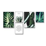 Botanisk Frame Art Veggkunst,Plastikk Materiale med ramme For Hjem Dekor Rammekunst Stue