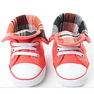 赤ちゃん 靴 コットン 秋 冬 コンフォートシューズ 赤ちゃん用靴 フラット 用途 カジュアル ピーチ
